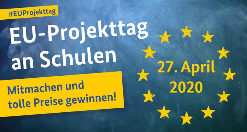 EU-Projekttag am (27. April 2020) wird in das nächste Schuljahr verschoben
